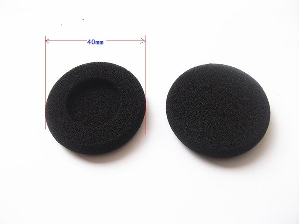 45mm Foam ear Pad Sponge Earpads Replacement HeadPhone Earbud Cover. 5 Pairs/lot free shipping