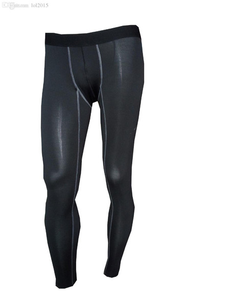 Wholesale-2016 fitness clothing sport sexy Youth compression lycra tights for men's running basketball outdoor wear pants S-2xl size