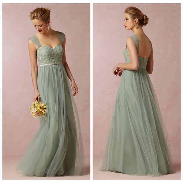 Kleid pastellgrun