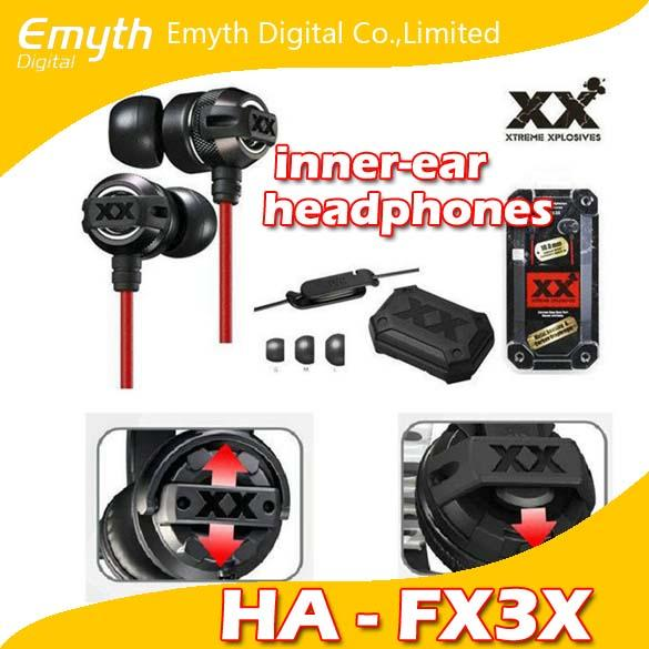 Popular HA FX3X HiFi Bass Xtreme-Xplosiv In-Ear Sound Isolating Stereo Headphones Casque Stereo earphone for iPhone iPad iPod hot sell