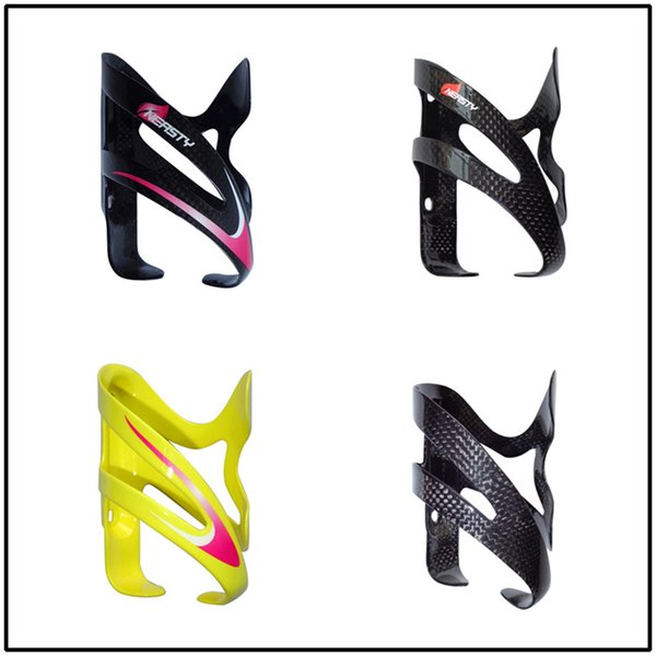 BC1007 NEASTY brand full carbon fiber road bike and mountain bike water bottle cage wholesale factory red/yellow/black color painted