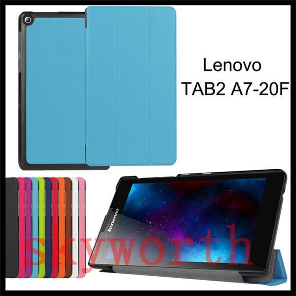 For Lenovo Tab 3 8 Plus 7 Essential 710F 730M A10-30 A10-70 A8-50 A7-20 Yoga 3 Folio Flip 3 Folder leather case Stand