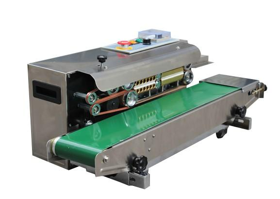 Alta quanlity in acciaio inossidabile SF-150 Sigillante a nastro continuo / Film Sealing Machine / termosigillante 2014
