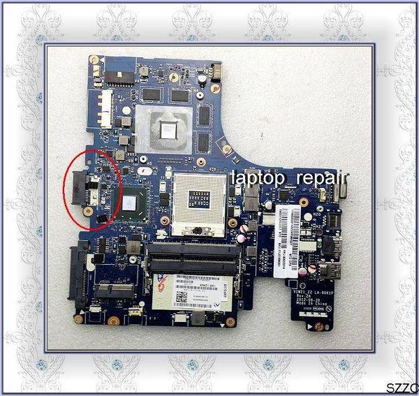 originale per Lenovo Z400 laptop HM76 DDR3 N13P-GSR-A1 non integrata scheda madre VIWZ1_Z2 LA-9061P, completamente testata