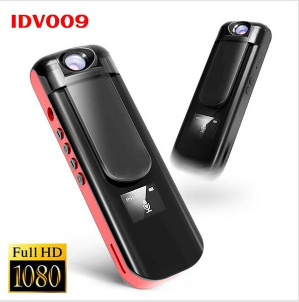 IDV 009 Mini Kamera Kayıt Kalem 1080 P Full HD Spor DV Kamera Döndür Lens Ses Video Kaydedici Dahili MP3 Çalar Mini DVR