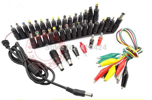 46 em 1 Universal AC DC Jack Power Adapter Plug Conector de Alimentação para HP Dell (boot-able Rechargeble) IBMApple Ordem Cabo Cabo $ 18no tr