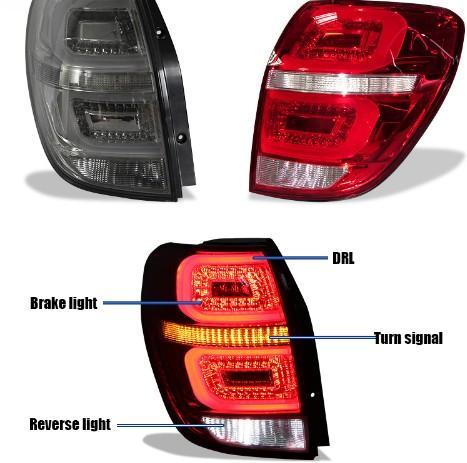 best selling For Chevrolet Captiva 2006 2007 2008 2009 2010 2011 2012 2013 2014 2015 Rear Lights Tail Light Braking LED DRL Turning Lamps