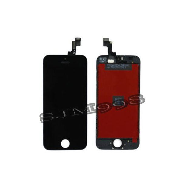 Black White LCD Display Touch Screen Digitizer Full Assembly for iPhone 5S Replacement Repair Parts & free shipping