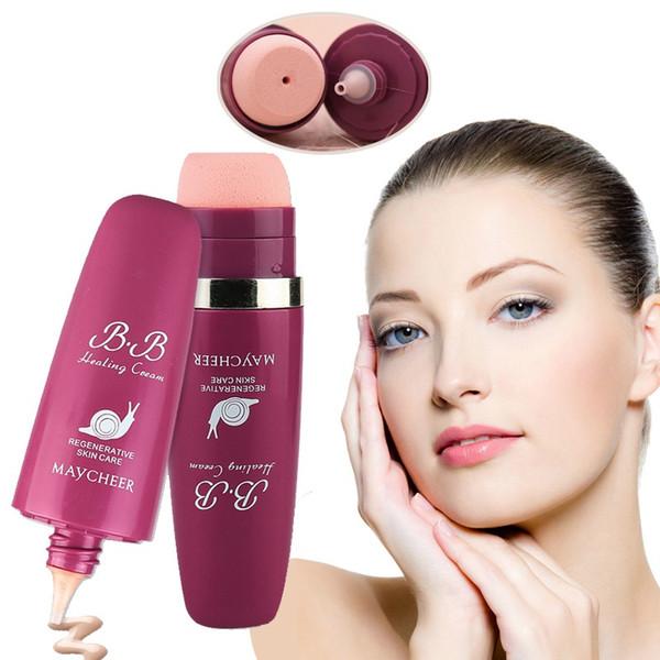Maycheer Snail Healing BB Cream Crema base de maquillaje multi-efecto Regenerative Oil Control SPF 30 Bloqueador solar Beauty Skin Care Products