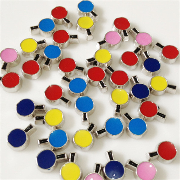 20PCS/Lot!! Wishing Bottle Floating charms DIY Floating locket Charms Mix Color Fit Floating lockets&Floating locket bracelets FC083