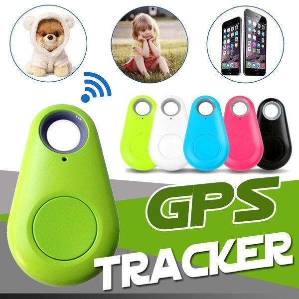 Mini teléfono inalámbrico Bluetooth Rastreador GPS Alarma iTag Buscador de teclas Grabación de voz Anti-perdida Selfie Shutter para Samsung S8 Android Smartphone