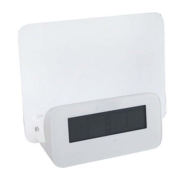 2015 New chegar LED Message Board para o Natal moda big-screen placa de mensagem romântica relógio fluorescente LED relógio eletrônico
