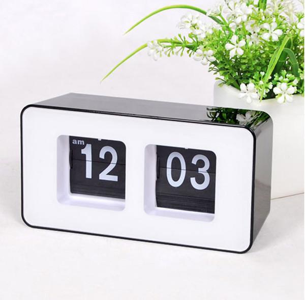 Divertente orologio da tavolo contemporaneo Desktop Time Alarm LED Digital Clock per regali, per vacanze, promozioni aziendali, decorazione della casa