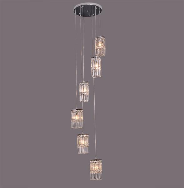 Villa 78 Caracol Moderno Escalera Luces Minimalista K9 Lámparas Del Compre De Cristal Escalera Luces Araña Cristal A235 De De Techo Lámparas D2EHY9WI