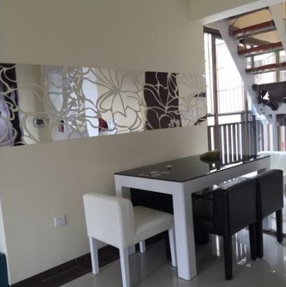 Vente En Gros 200X45 Cm Argent 3D Diy Décoration De La Maison