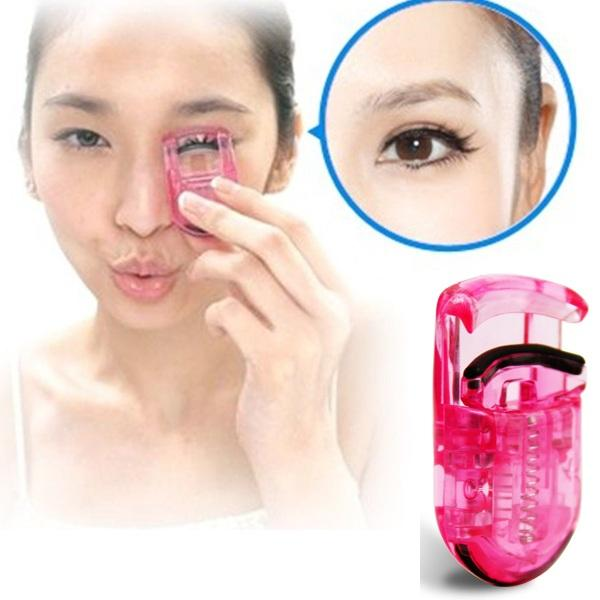 Wholesale- 2PCS Professional Beauty Kit False Eyelash Eye Lashes Curler Curling Clip Makeup Tool