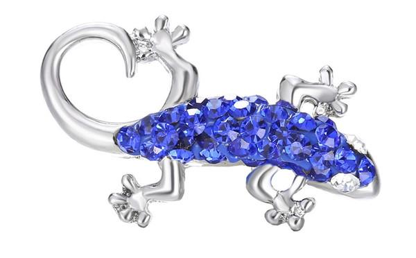 6 farben mix Zubehör Druckknöpfe FashionCrystal Metall Ginger Verschlüsse DIY Noosa Chunk Schmuck armbänder tier gecko taste