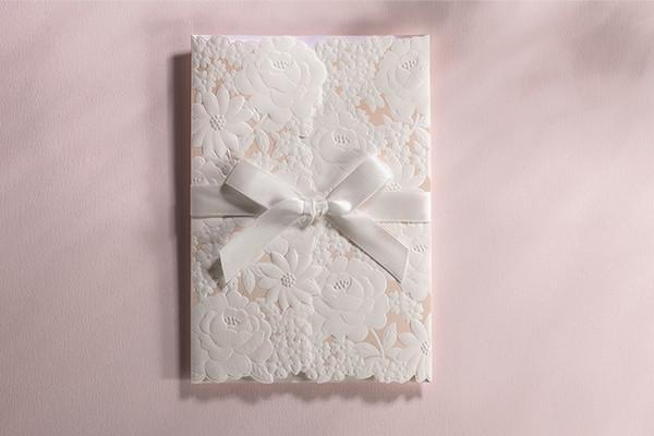 Wedding Invitation Design Ottawa. Western Style White Hollow Lace Design Wedding Invitations Supplies Beauty  Card With Envelope Cards 20pcs
