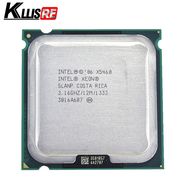 Der Prozessor Intel Xeon x5460 3.16GHz 12M 1333Mhz funktioniert auf dem LGA775 Mainboard ohne Adapter