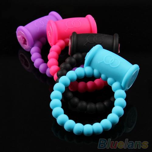 Men's Pleasure Ring Vibrating Rings Sex Toys Product 1l5o 2wql Male Cock Ring Vibrator Sexy for Men Random Color