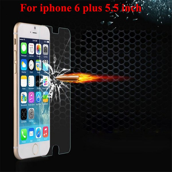 Premium Tempered Glass Manufacturer Factory Price Screen Protector for iphone 6 plus 6s Plus without retail box 500pcs