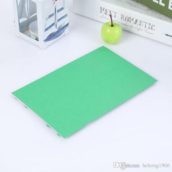 Yaratıcı Tebrik Kartı DIY Hollow Out Tasarım Davetiye Kartları Düğün Malzemeleri Için Yeşil Sedef Kağıt Fiche 1 5rc B