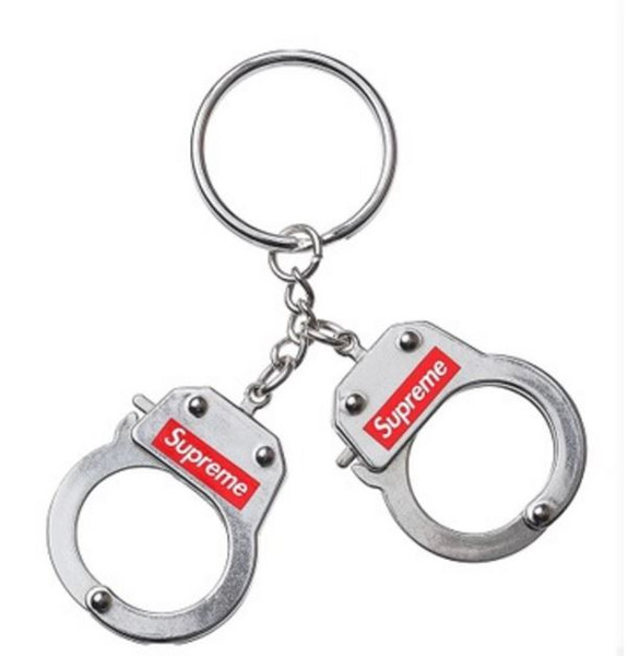 top popular fahion new handcuffs keychains the hot 17FW keychain 2020