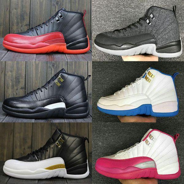 Yüksek Kalite 12 12 s erkek Rahat ayakkabılar OVO Beyaz Salonu Kırmızı Koyu Gri kadınlar Rahat Ayakkabılar Taksi Mavi Süet Grip Oyunu CNY