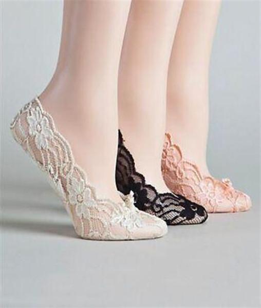 Preiswerte Spitze-Hochzeit beschuht elastische Socken Brautsocken nach Maß Tanzschuhe für Hochzeitsaktivität Socken Brautschuhe