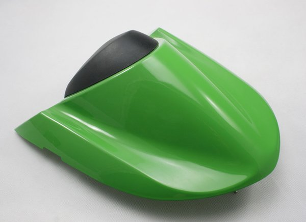 For NINJA ZX10R Motorcycle Rear Pillion All Green Injection ABS Seat Cowl Cover For Kawasaki NINJA ZX10R 2004 2005