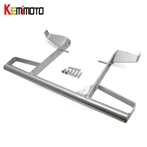 best selling Wholesale- KEMiMOTO Aluminum Wide Grab Bar Rear Pasanger Grab Bar for YAMAHA RAPTOR 700R 700 R 700R SE ALL YEARS Silver