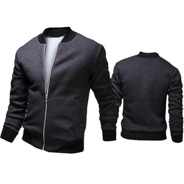 Otoño-2015 Moda Marca Casual Bomber Jacket Hombres Abrigos Al Aire Libre Veste Homme jaqueta Moleton Masculina Chaqueta Hombre Casaco A90