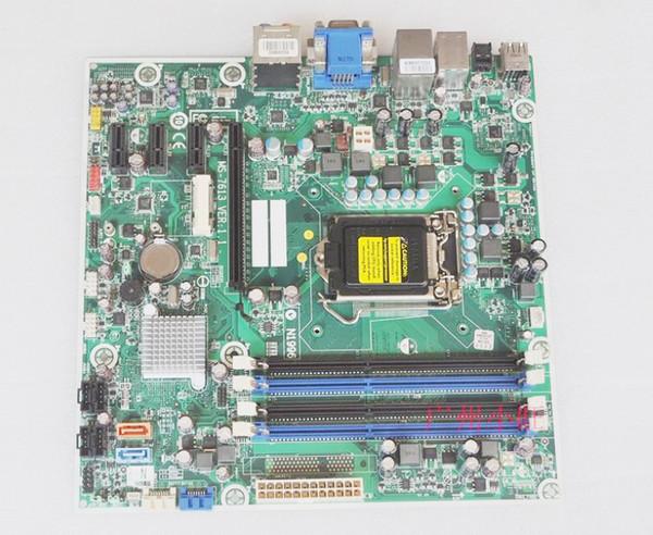 top popular 575765-001 612500-001 608885-001 Motherboard MS-7613 Main board For HP 3130MT 7100MT Desktop LGA1156 s1156 DVI VGA H57 Motherboards 2021
