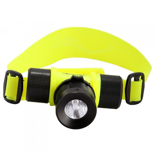 CREE XPE Waterproof Diving Headlamps 1800 Lumen Magnetic Switch Aluminum Alloy Outdoor Camping Headlamps LED Bulbs SP-LH-5B