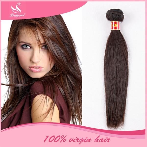 Eurasian Virgin Hair Straight Unprocessed 7A Brazillian Peruvian Filipino Malaysian Cambodian Human Hair Weave Bundles Natural Color Dyeable