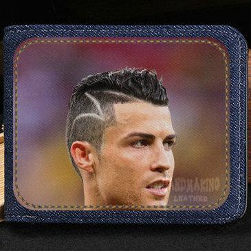 Cristiano Ronaldo wallet CR7 purse C football star short cash note case Money notecase Leather burse bag Card holders