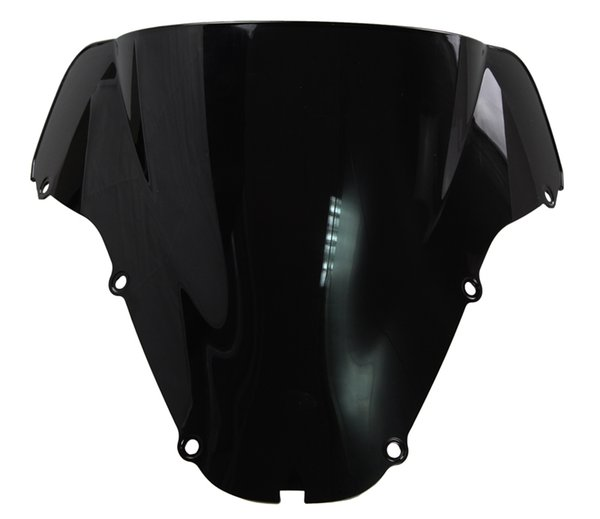 Motorcycle Double Bubble Windshield WindScreen For 2000-2001 Honda CBR900RR CBR 900 RR 929 00 01 Black