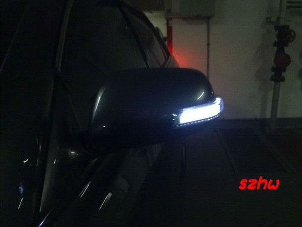 LED Dedicated rear-view mirror lights; turn signals, DRL, as ground lamp, 3-in-1 function for TOYOTA CAMRY COROLLA VIOS fast shipping