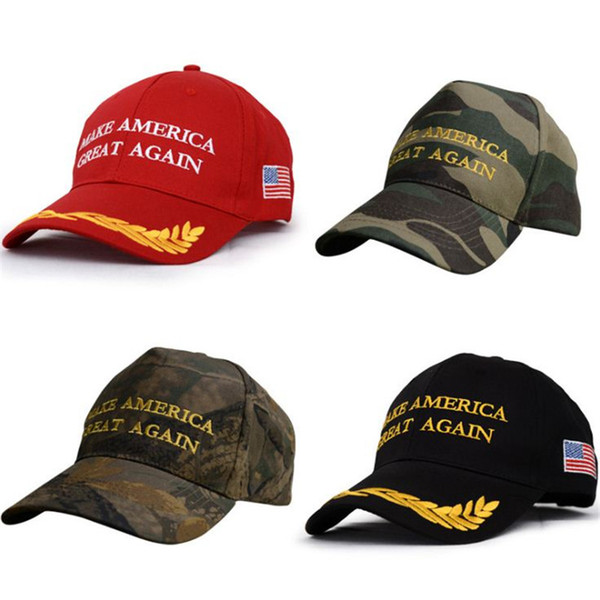 Baseball Caps America Make Great Again Hat Donald Trump camouflage hats ouc2138