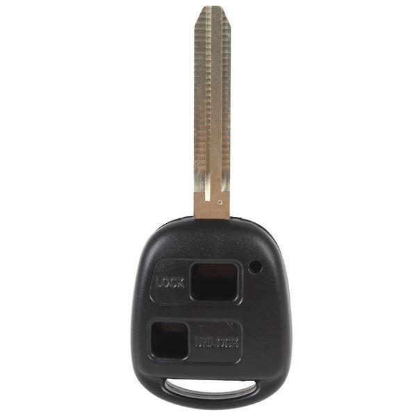 Bouton Pad 3 touches pour Coque clé Télécommande Bouton Toyota Yaris RAV4 Celica