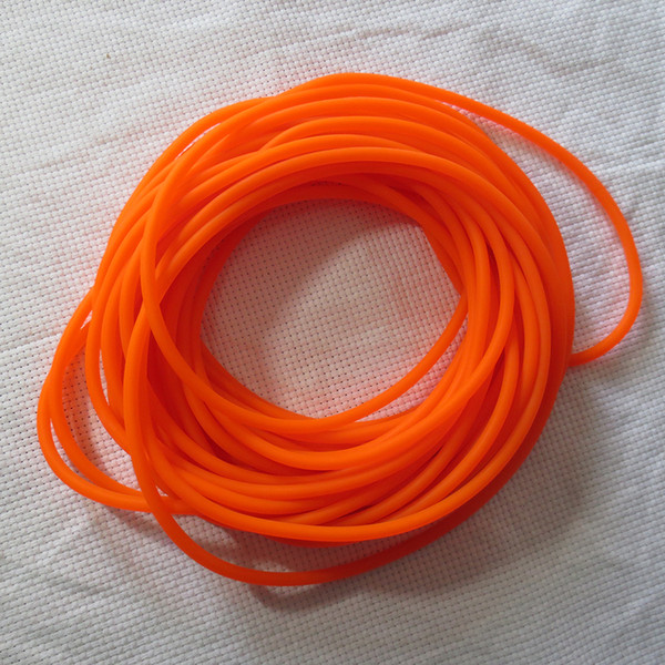 10 meters 1842 Yellow Natural Latex Replacement Rubber Band Tube for Outdoor Hunting Slingshot Catapult Elasti rubber Slingshot sinews
