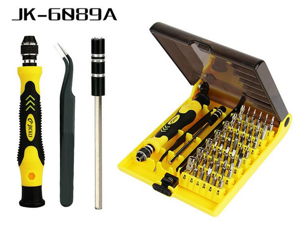 45 In 1 Screwdriver Tool Electron Torx Multifunction Repair tool with 130mm various angle veer for camera cell phone JK-6089
