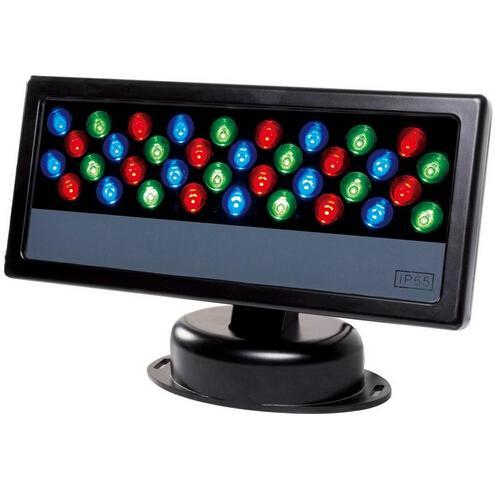 36*3W LED RGB Floodlight LED Wash Light Waterproof LED DMX 512 Stage Light LED Floodlight led Wall Washer light background Lamp