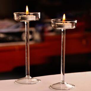 Wholesale Fashional Design for Home and Wedding Decorative Tall Tealight Candle Holder with Size of Bredth 5.5cm x Height 18.5cm