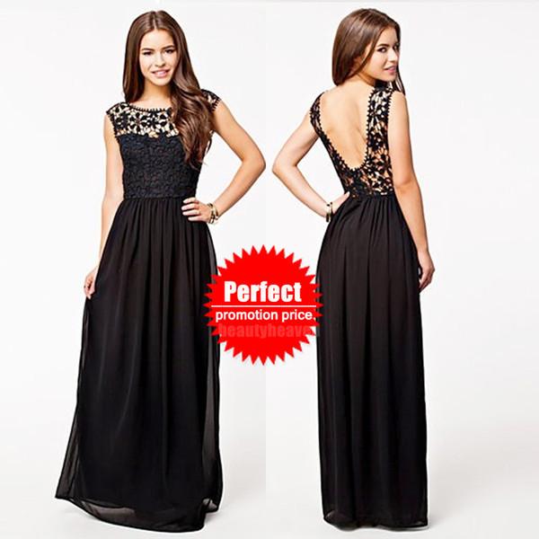 Women Plus Size Maxi Long Chiffon Dresses Summer expansion bottom ...