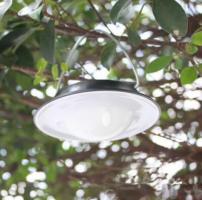 Outdoor waterproof IP65 Solar led light Portable Camping lamp outdoor garden solar panel lamps Tree decoration chargeable solar hanging lamp