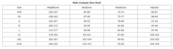 Male Size
