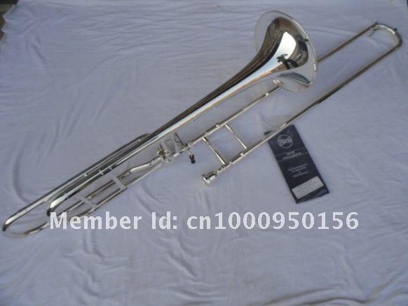 New Arrival Professional Bach 42BO Bb Tenor Trombone Silver Plated B Flat Trombone High Quality Musical Instruments