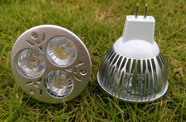 3X1W LED Light Bulbs Lamp 3W Spotlights E27 GU10 GU5.3 MR16 E14 Base Refletor led High Power Watt Lighting Super Bright 300LM Lampen CE ROSH