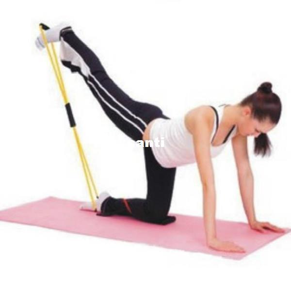 Nuevo Llega Banda de Entrenamiento de Resistencia Tubo Entrenamiento Ejercicio para Yoga 8 Tipo Moda Body Building Fitness Equipment Tool